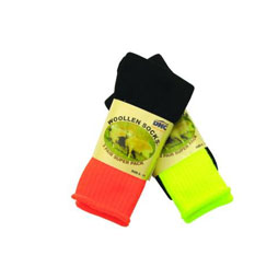 SAFETY 2 TONE WOOLEN SOCKS - Brand Expand