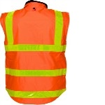 PRIME MOVER REVERSIBLE FLEECY VEST WITH MICRO PRISM TAPE - Brand Expand